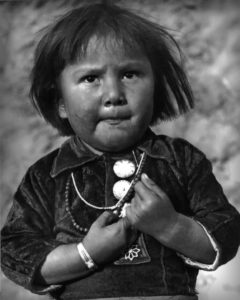 Hopi Child Goldwater