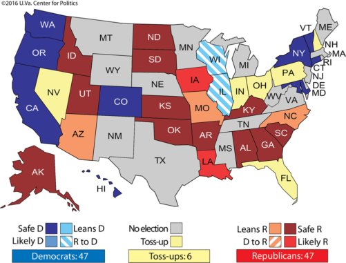 Larry Sabato's Crystal Ball